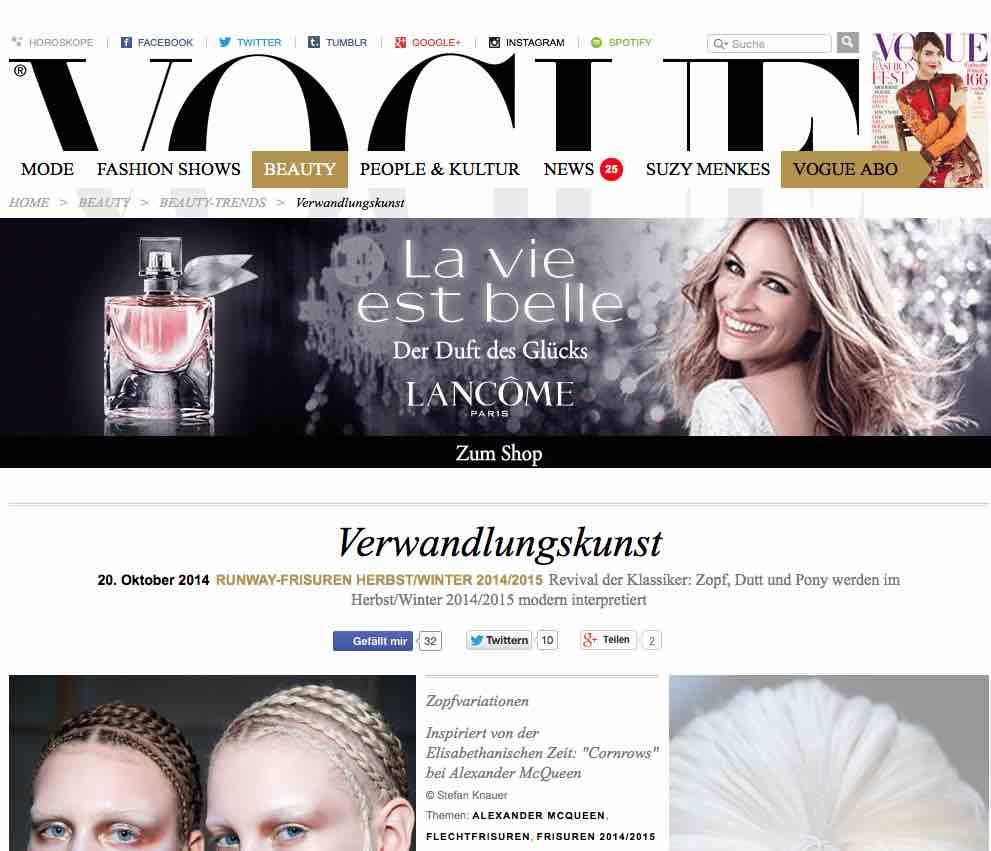 Zopf, Dutt & Pony – Vogue und die Trends