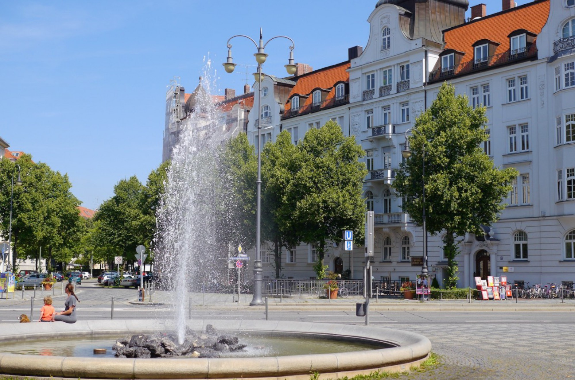 3 walking minutes from Prinzregentenplatz