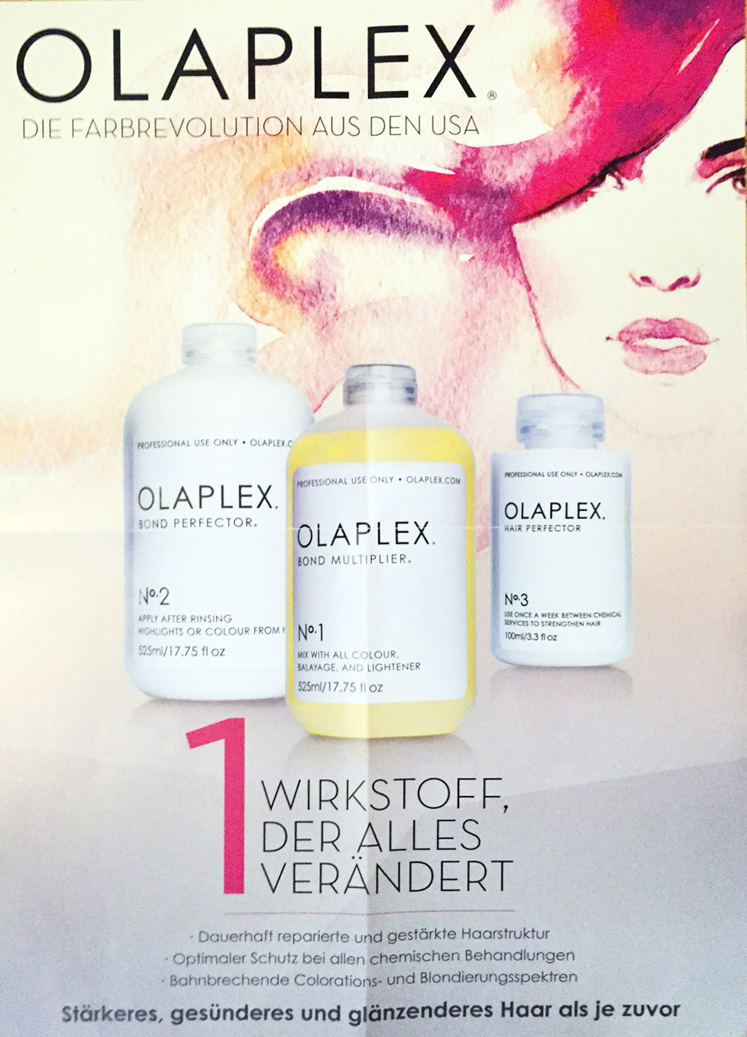 Olaplex Plakat