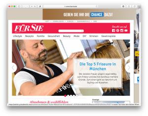 Für Sie - Top 5 Friseure in München