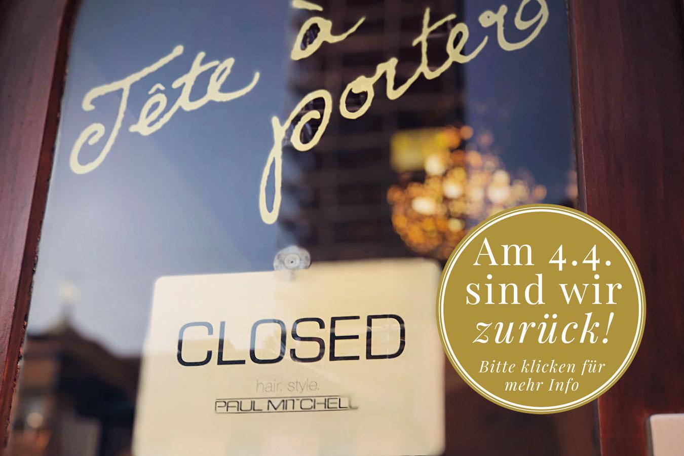 Wir sind geschlossen / Ausgangssperre München