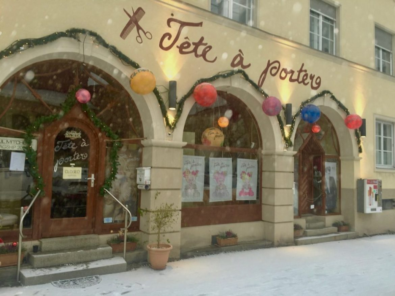 Let it snow in München
